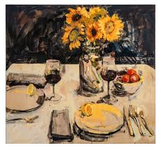 willow bader is an encaustic artist who paints images of rs ians and the enjoyment of food and wine she makes her home in seattle washington