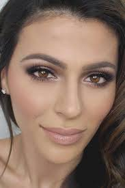 natural wedding makeup looks inspirational natural makeup for brown eyes faceshairstylist