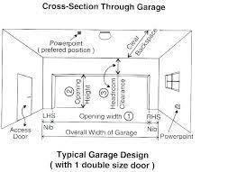 height of garage door typical garage door height found this standard double minimum garage door height height of garage door