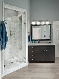 houzz lighting fixtures. Example Of A Transitional Gray Tile Alcove Shower Design In Dallas With An Undermount Sink, Houzz Lighting Fixtures T