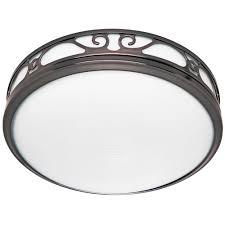 bathroom fans with light. Hunter Sona Quiet Decorative Imperial Bronze 110 CFM Bath Fan With Light Bathroom Fans U