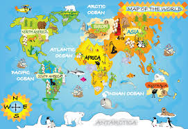 kids world map within world maps for  roundtripticketme
