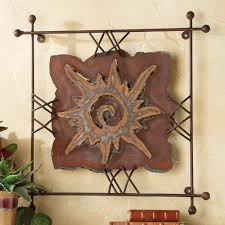 on large metal wall art cheap with sun rawhide metal wall art large