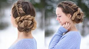 Pretty Girls Hairstyle stacked fishtail updo prom hairstyle cute girls hairstyles 6090 by stevesalt.us