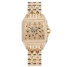 Ladies Designer Bling Watches Amazon Com Crystal Creations Swarovski Crystal Accented