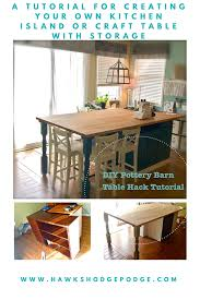 Image Stunning Complete Tutorial Using Furniture Pieces From Craigs List And Butcher Block From Ikea To Make Your Very Own Pottery Barnesque Kitchen Island Or Craft Bedahrumahinfo Complete Tutorial Using Furniture Pieces From Craigs List And