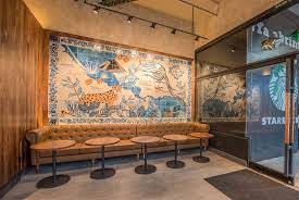 puebla mexico starbucks  on starbucks wall artwork with 13 one of a kind starbucks stores across the globe 1912 pike