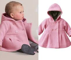 20 79 toddler kid fall winter horn on hooded baby girl winter warm wool blend pea coat snowsuit jacket outerwear clothes