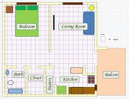 picture of create floor plan using ms excel