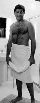 Claude akins hairy chest