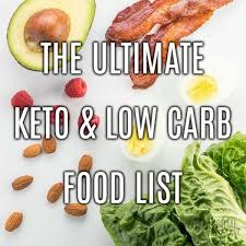 Carb Counter Chart Free Low Carb Keto Food List With Printable Pdf