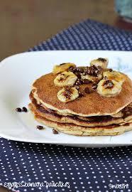 eggless banana pancakes recipe how to