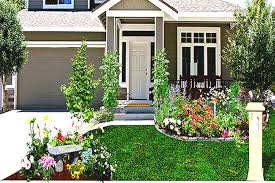 Small Front Driveway Design Ideas Small Front Yard With Driveway Landscaping Ideas Cool Garden