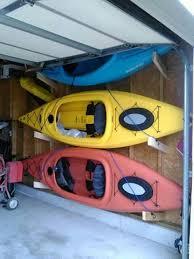kayak storage garage kayak storage rack