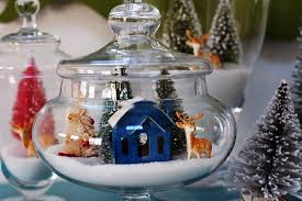 Apothecary Jars Christmas Decorations How to Make an Apothecary Jar Snow Village Curbly 49