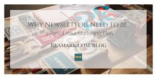 Real Estate Marketing Plan Mesmerizing Have You Added Newsletters To Your Real Estate Marketing Plan Yet