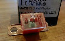rover fuses fuse boxes genuine mg rover 400 45 mg zs 50 amp red link fuse main fuse box