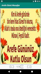 Arefe Günü Mesajlar for Android - APK Download