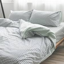 grey and white striped duvet cover.  Duvet Grey And White Striped Duvet Cover Handmade In Natural Linen Reversible  Bedding Intended And Amazoncom