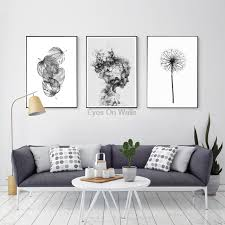 >nordic abstract poster and prints black white wall art canvas  nordic abstract poster and prints black white wall art canvas painting girl picture for living room