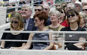 Patsy Clarke, centre, wife of former All Blacks great Don Clarke,with...  News Photo - Getty Images