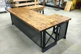 office desk idea. Industrial Office Furniture Photo 2 Of 5 Desks Idea 3 U Shape Executive Desk N