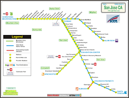 los angeles ca light and heavy rail systems