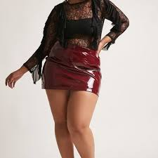 forever 21 dresses skirts forever 21 plus size faux leather skirt