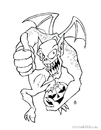 Creepy Coloring Pages Scary Dragon Coloring Pages Scary Monster