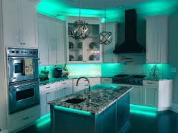 full color led accent lighting great for kitchenan caves by railtech led
