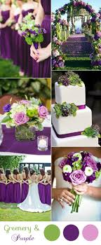 Purple and green wedding colors Color Palette Gorgeous Purple And Green Spring And Summer Wedding Colors Elegant Wedding Invites 10 Greenery Wedding Colors Inspired By Pantone Color Of 2017