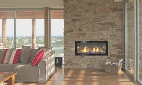 Decorative Uniflame Stacked Stone Electric Fireplace With Double Double Sided Electric Fireplace