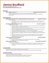 Nice Resume Formats Resume Template Nice Resume Format Diacoblog Com