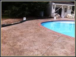 stamped concrete pool patio. Stamped Concrete Flagstone Pavers In Virginia VA Stone Pool Patio