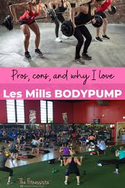 why i love les mills bodypump the