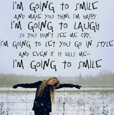 I'm Going To Smile And Make You Think I'm Happy Happiness Quote Impressive Im Happy Quotes