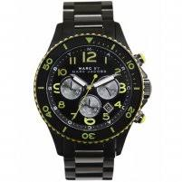 men s marc jacobs mbm5026 marine rock watch francis gaye jewellers men 039 s black pvd marine rock watch