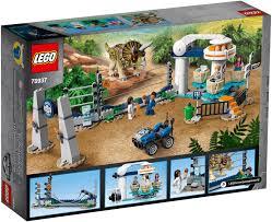 <b>LEGO Jurassic World Нападение</b> трицератопса 75937 « LEGO ...
