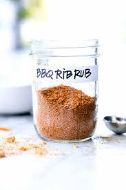 dry rub for ribs foocrush rub ribs pork babyback