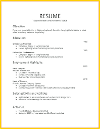 How To Create A Resume Simple How Create Resum How To Create A Job Resume On How To Write A Resume