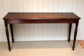 mahogany hall table. Modern Concept Mahogany Hall Table With Raised On Turned Supports
