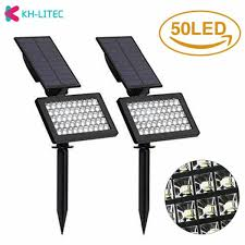 Solar Light Packs 4 Packs Solar Led Yard Light Outdoor 8 Lumens Multicolor
