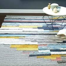 west elm area rug multi pixel woven rugs jute chenille 8x10 grey
