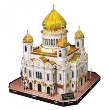 3D-пазл <b>CubicFun Храм Христа</b> Спасителя (MC125h)... — купить ...