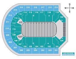 Iowa Event Center Seating Chart Denny Sanford Premier Center Event Seating Charts