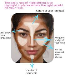 highlighting and contouring tips