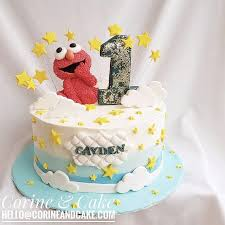 Starry Elmo Cake Corine And Cake