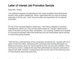 Cover Letter For Internal Promotion Cover Letter For Internal Promotion Example