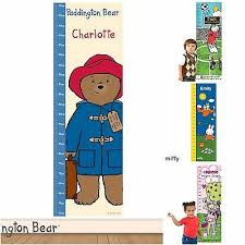 Personalised Childrens Childs Kids Wall Height Measuring