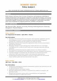 Gis Analyst Resume Sample Policy Analyst Resume Samples Qwikresume